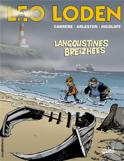 Couverture Léo Loden tome 20 - langoustines breizhées