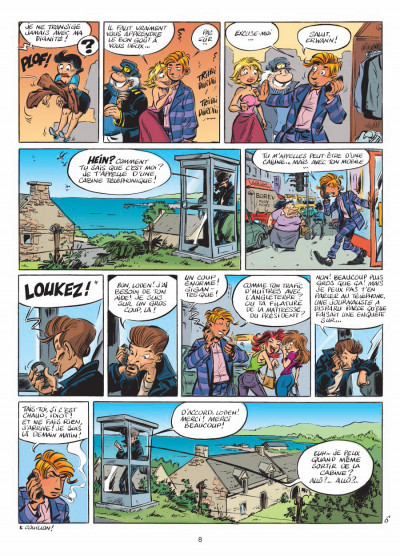 Page 6 Léo Loden tome 20 - langoustines breizhées