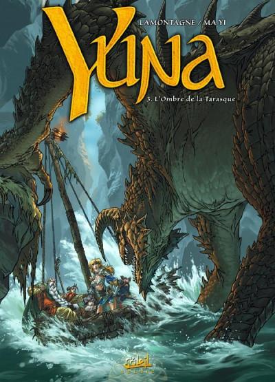 Couverture Yuna tome 3 - l'ombre de la tarasque