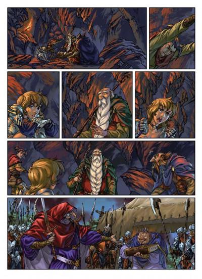 Page 1 Yuna tome 3 - l'ombre de la tarasque