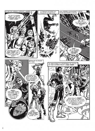 Page 2 judge Dredd - intégrale tome 1
