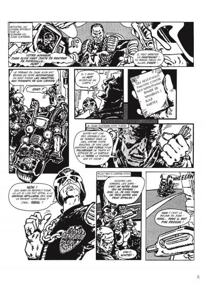 Page 3 judge Dredd - intégrale tome 1