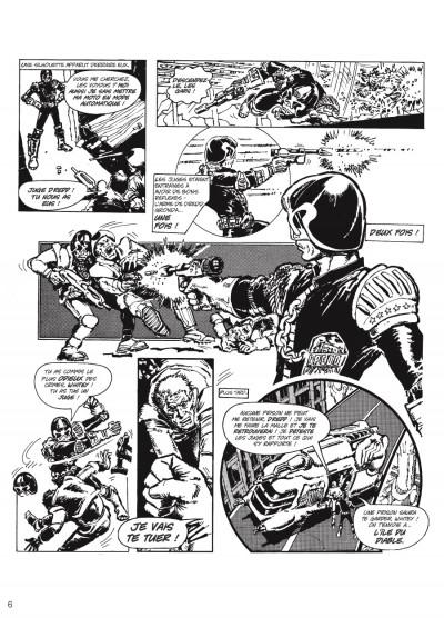 Page 4 judge Dredd - intégrale tome 1