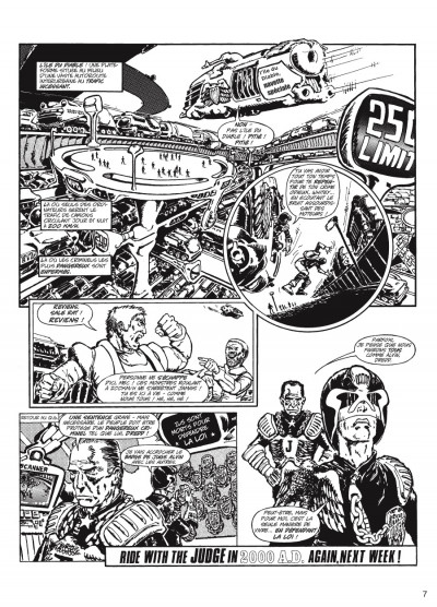 Page 5 judge Dredd - intégrale tome 1