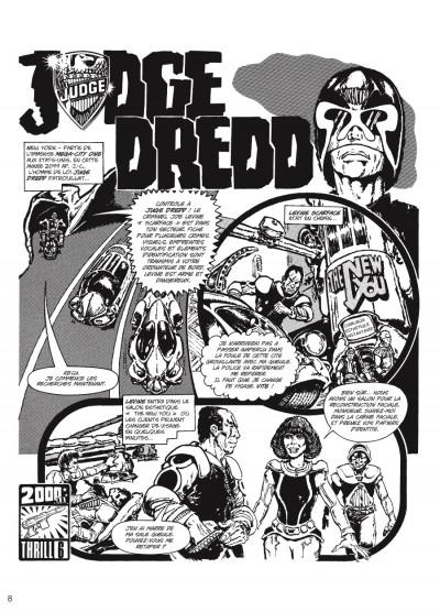 Page 6 judge Dredd - intégrale tome 1