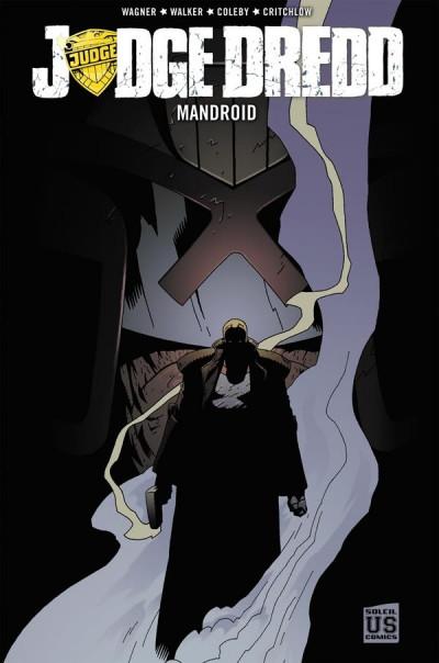 Couverture Judge Dredd ; mandroid