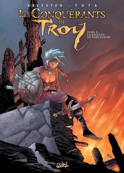Couverture Les conquérants de Troy tome 3