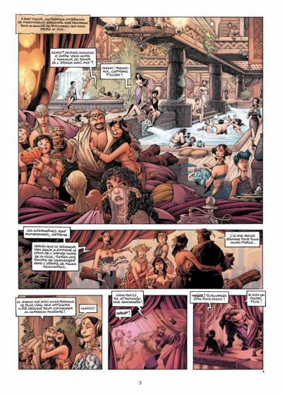 Page 1 Les conquérants de Troy tome 3