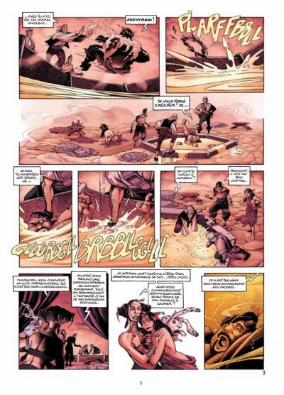 Page 3 Les conquérants de Troy tome 3