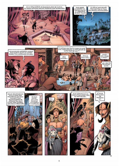 Page 4 Les conquérants de Troy tome 3