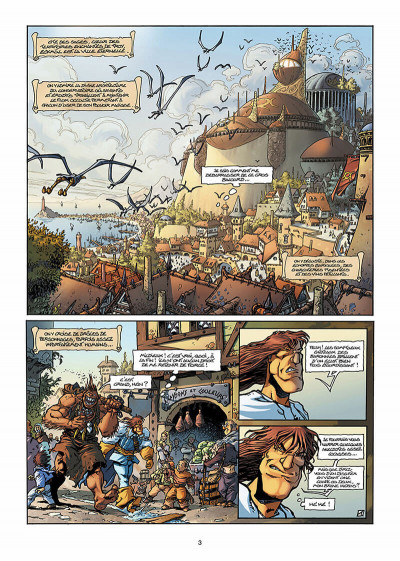 Page 4 Lanfeust de Troy T.2 - Thanos l'incongru