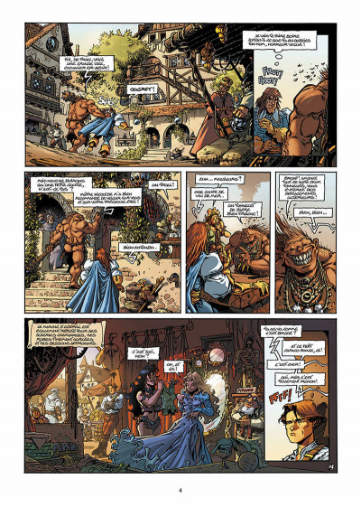 Page 5 Lanfeust de Troy T.2 - Thanos l'incongru