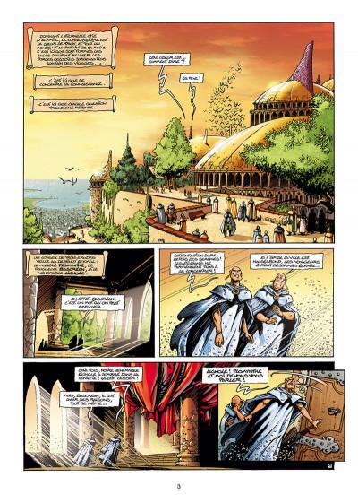 Page 3 Lanfeust de Troy T.3 - Castel or-azur
