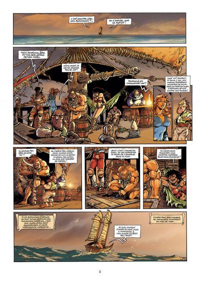 Page 5 Lanfeust de Troy T.3 - Castel or-azur