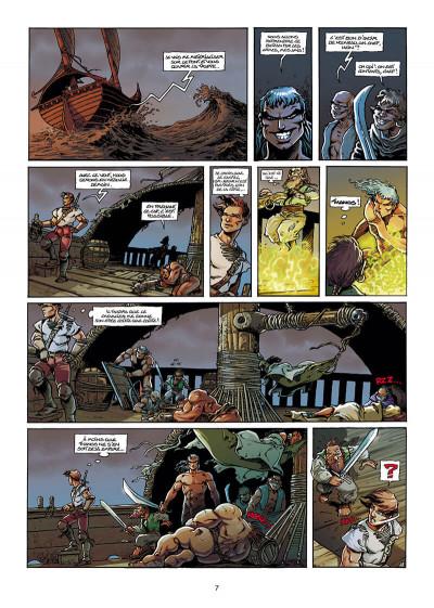 Page 7 Lanfeust de Troy T.3 - Castel or-azur