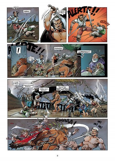 Page 8 Lanfeust de Troy T.3 - Castel or-azur