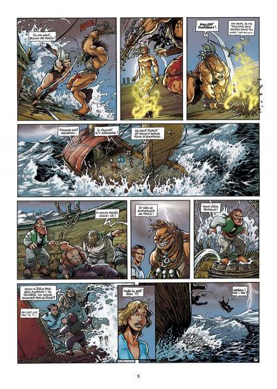 Page 9 Lanfeust de Troy T.3 - Castel or-azur