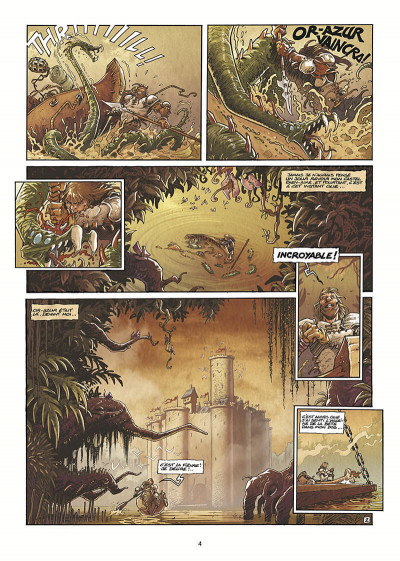 Page 5 Lanfeust de Troy T.4 - le paladin d'Eckmül
