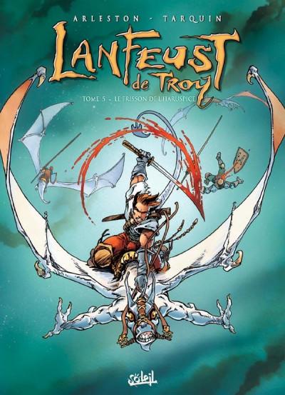 Couverture Lanfeust de Troy tome 5 - le frisson de l'haruspice