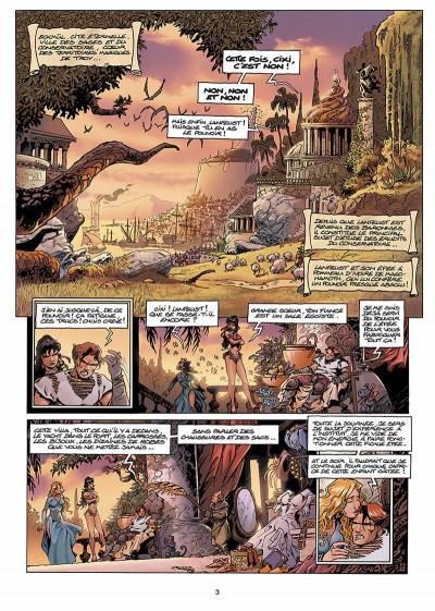Page 4 Lanfeust de Troy T.5 - le frisson de l'Haruspice