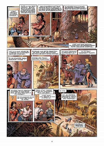 Page 5 Lanfeust de Troy T.5 - le frisson de l'Haruspice