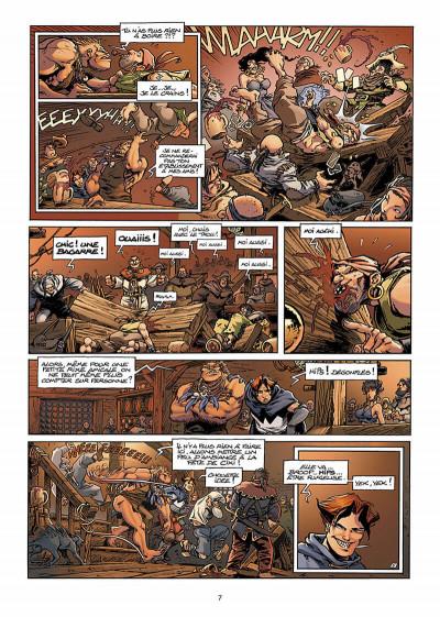 Page 8 Lanfeust de Troy T.5 - le frisson de l'Haruspice
