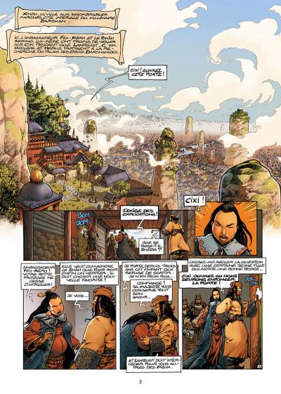 Page 3 Lanfeust de Troy tome 6 - Cixi impératrice