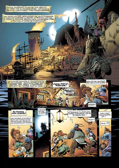 Page 3 Lanfeust de Troy tome 7 - les pétaures se cachent pour mourir