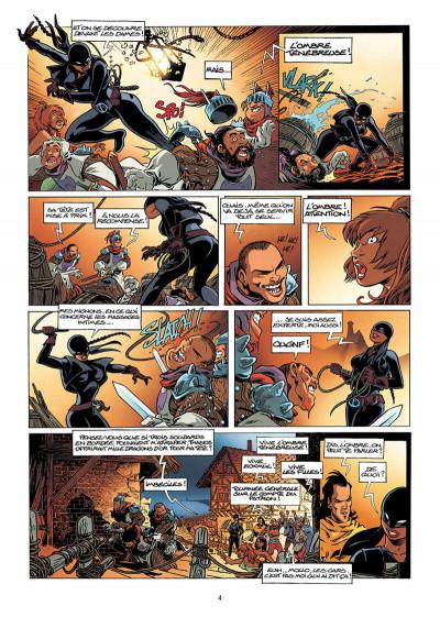 Page 4 Lanfeust de Troy tome 7 - les pétaures se cachent pour mourir