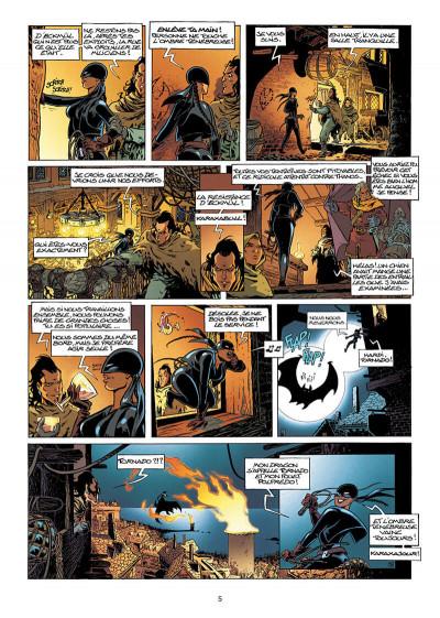Page 5 Lanfeust de Troy tome 7 - les pétaures se cachent pour mourir