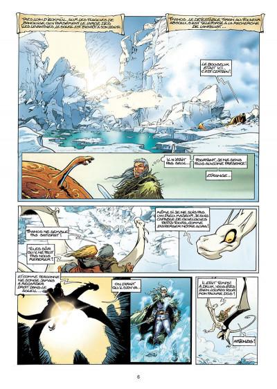 Page 6 Lanfeust de Troy tome 7 - les pétaures se cachent pour mourir