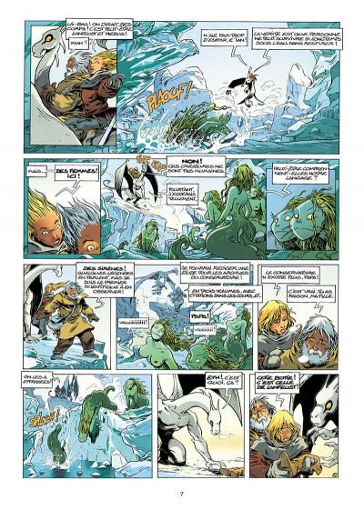 Page 7 Lanfeust de Troy tome 7 - les pétaures se cachent pour mourir