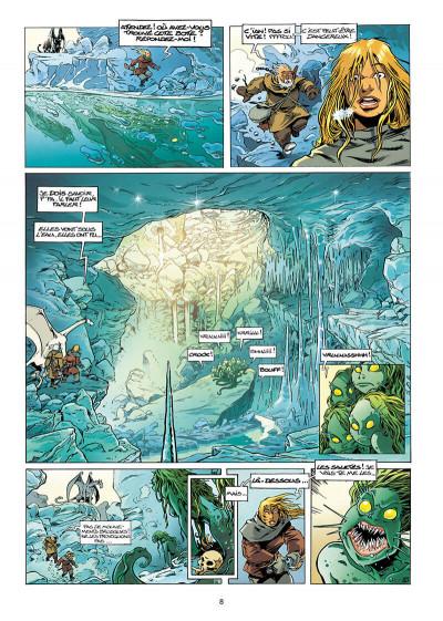 Page 8 Lanfeust de Troy tome 7 - les pétaures se cachent pour mourir
