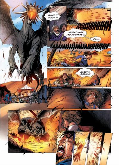 Page 3 la geste des chevaliers dragons tome 12 - Ellys