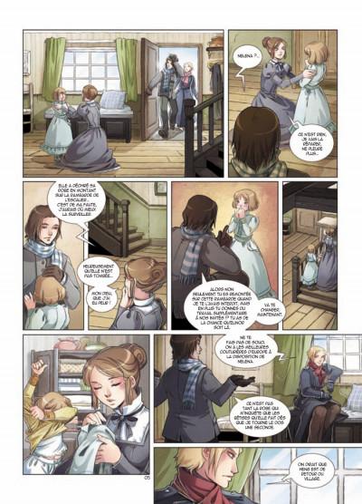 Page 5 Elinor Jones tome 2 - le bal de printemps
