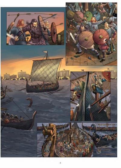 Page 3 les carnets secrets du vatican tome 5 - le bâton de Moïse