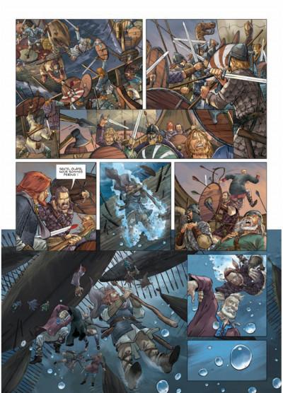 Page 4 les carnets secrets du vatican tome 5 - le bâton de Moïse