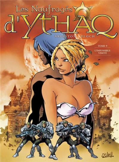 Couverture Les naufragés d'Ythaq tome 9
