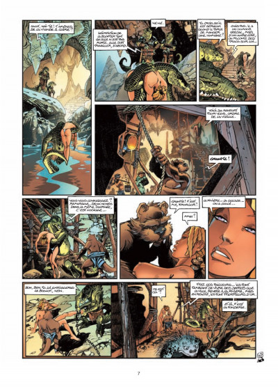Page 5 Les naufragés d'Ythaq tome 9