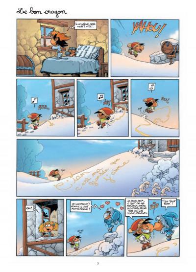 Page 1 gnomes de Troy tome 3 - même pas peur