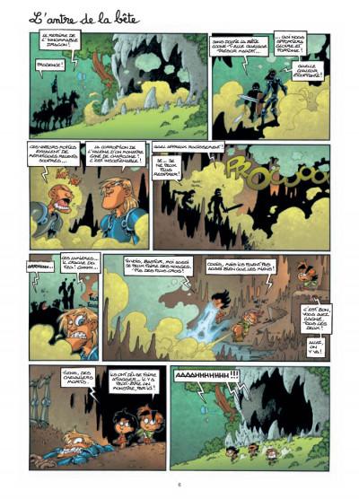 Page 4 gnomes de Troy tome 3 - même pas peur