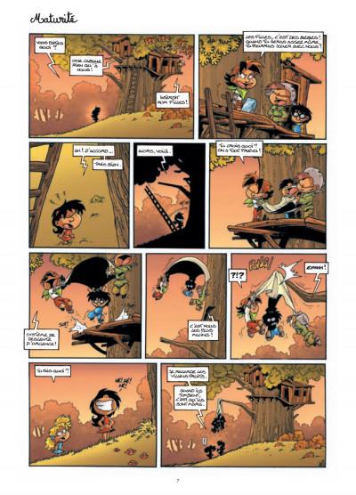 Page 5 gnomes de Troy tome 3 - même pas peur