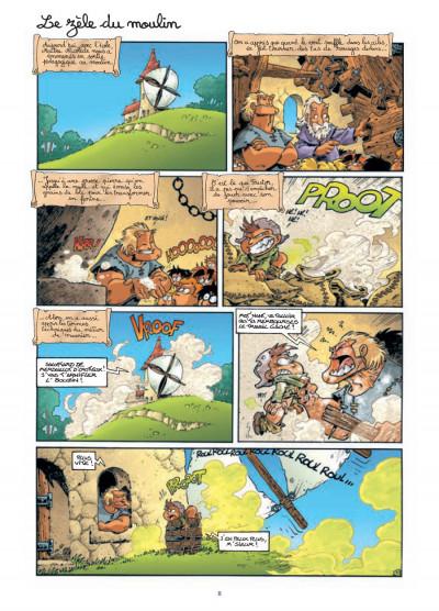 Page 6 gnomes de Troy tome 3 - même pas peur