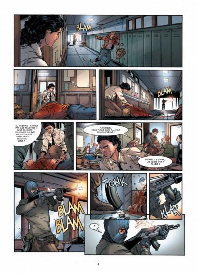 Page 2 vigilantes tome 1 - le signe