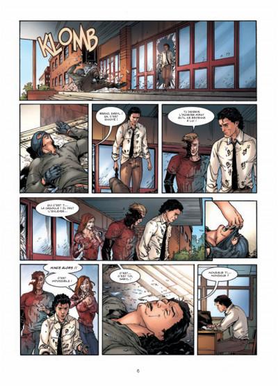Page 4 vigilantes tome 1 - le signe