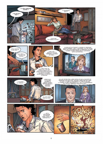 Page 6 vigilantes tome 1 - le signe
