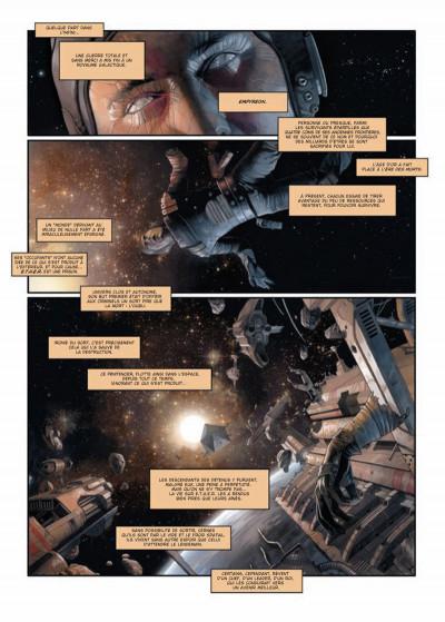 Page 1 Khaal - chroniques d'un empereur galactique tome 1