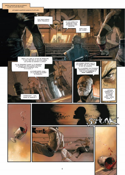 Page 2 Khaal - chroniques d'un empereur galactique tome 1