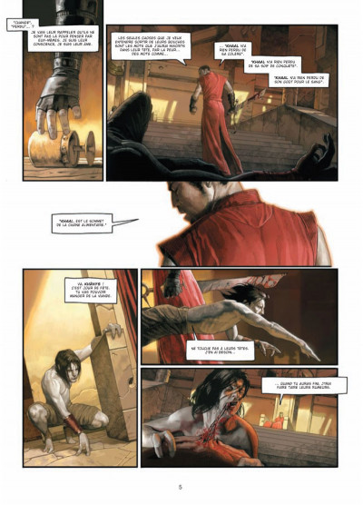Page 3 Khaal - chroniques d'un empereur galactique tome 1