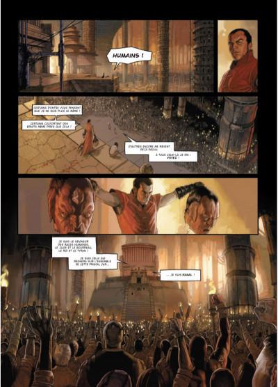 Page 4 Khaal - chroniques d'un empereur galactique tome 1